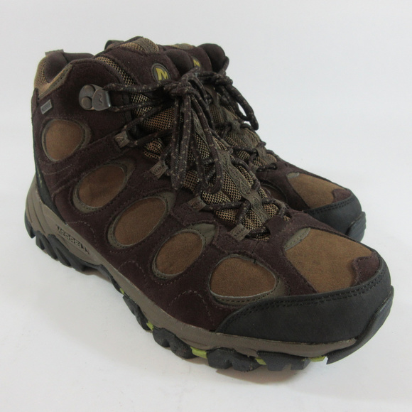 4459d67b9db Merrell Hilltop Mid Waterproof Hiking Boots Shoes